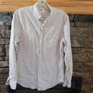 J.CREW TAILORED FIT BUTTON UP SZ S